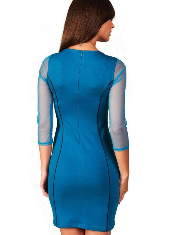 Sukienka Mirelle w kolorze paryski błękit