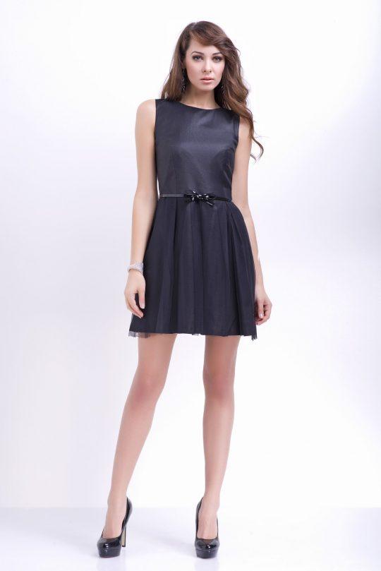 Sukienka Natalie w kolorze czarnym
