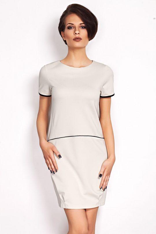 Sukienka Oxana w kolorze ecru