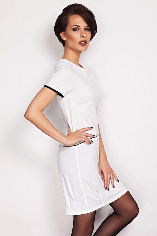 Sukienka Oxana w kolorze beżowym