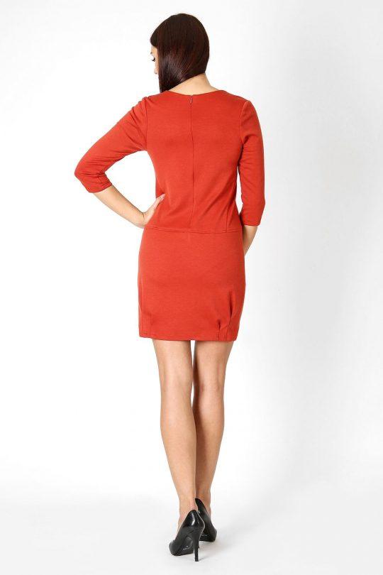 Sukienka Oxana w kolorze chabrowym
