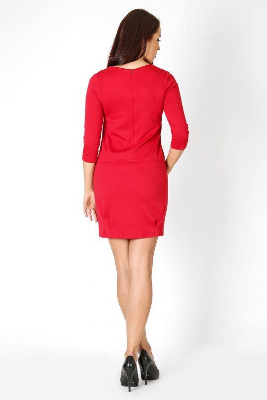 Sukienka Oxana w kolorze rudym