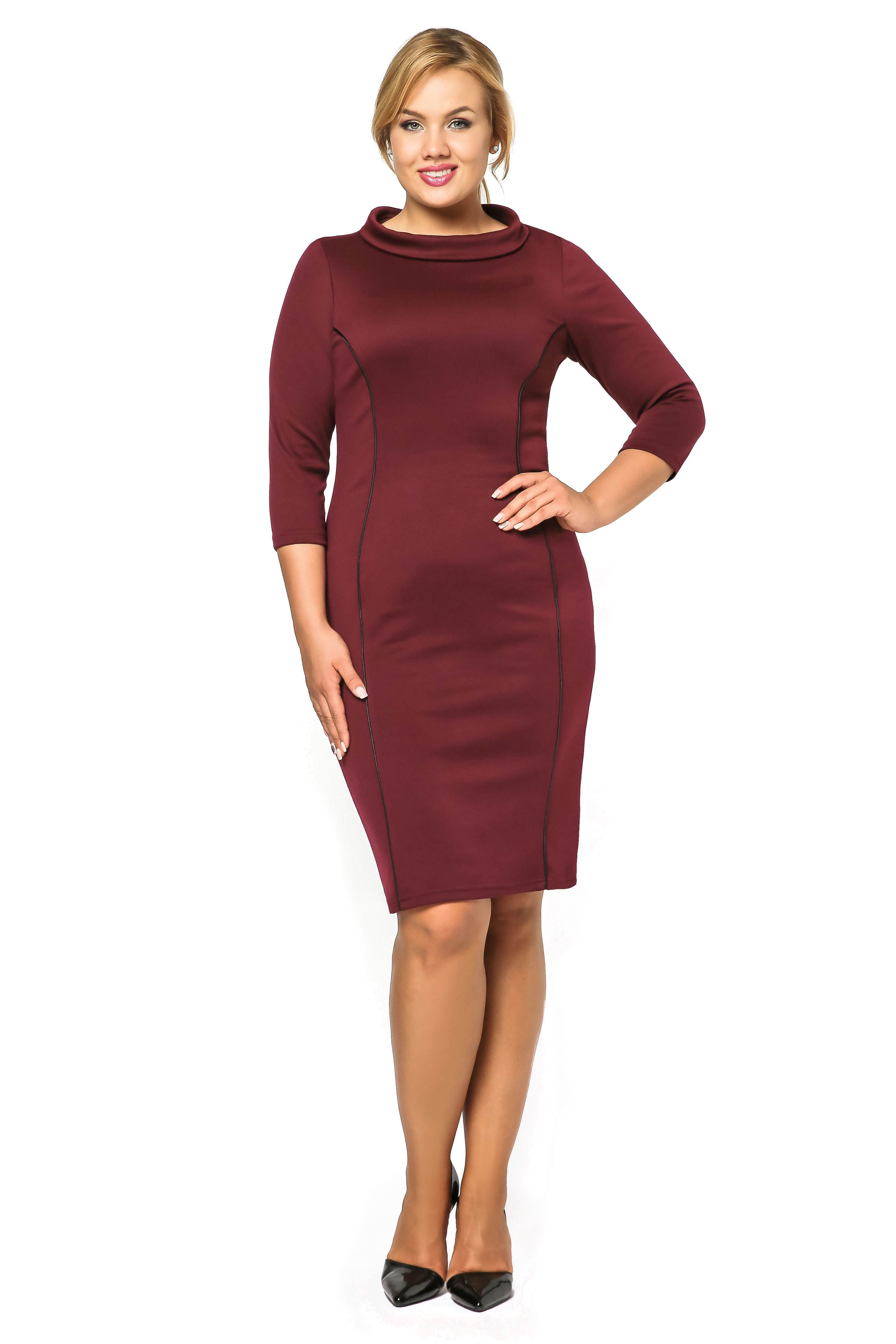Sukienka Pauline w kolorze bordo