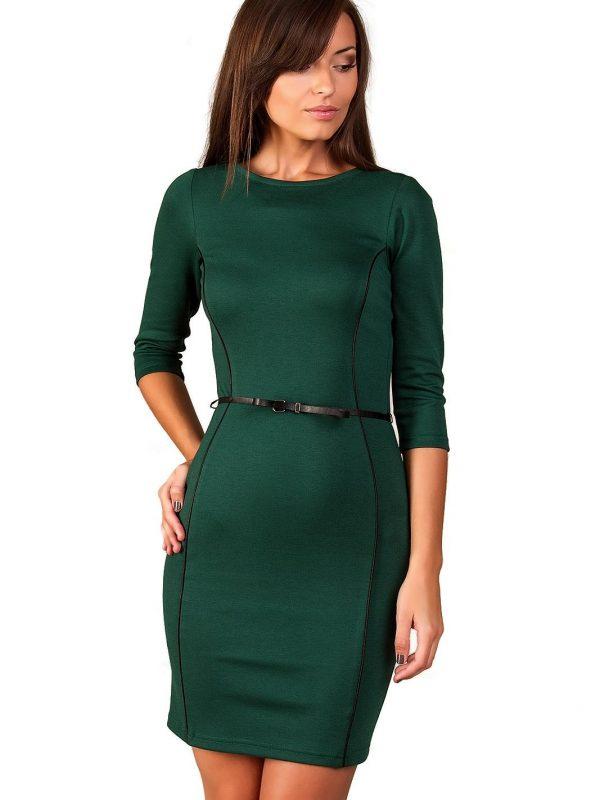 Sukienka Pola w kolorze ciemna zieleń