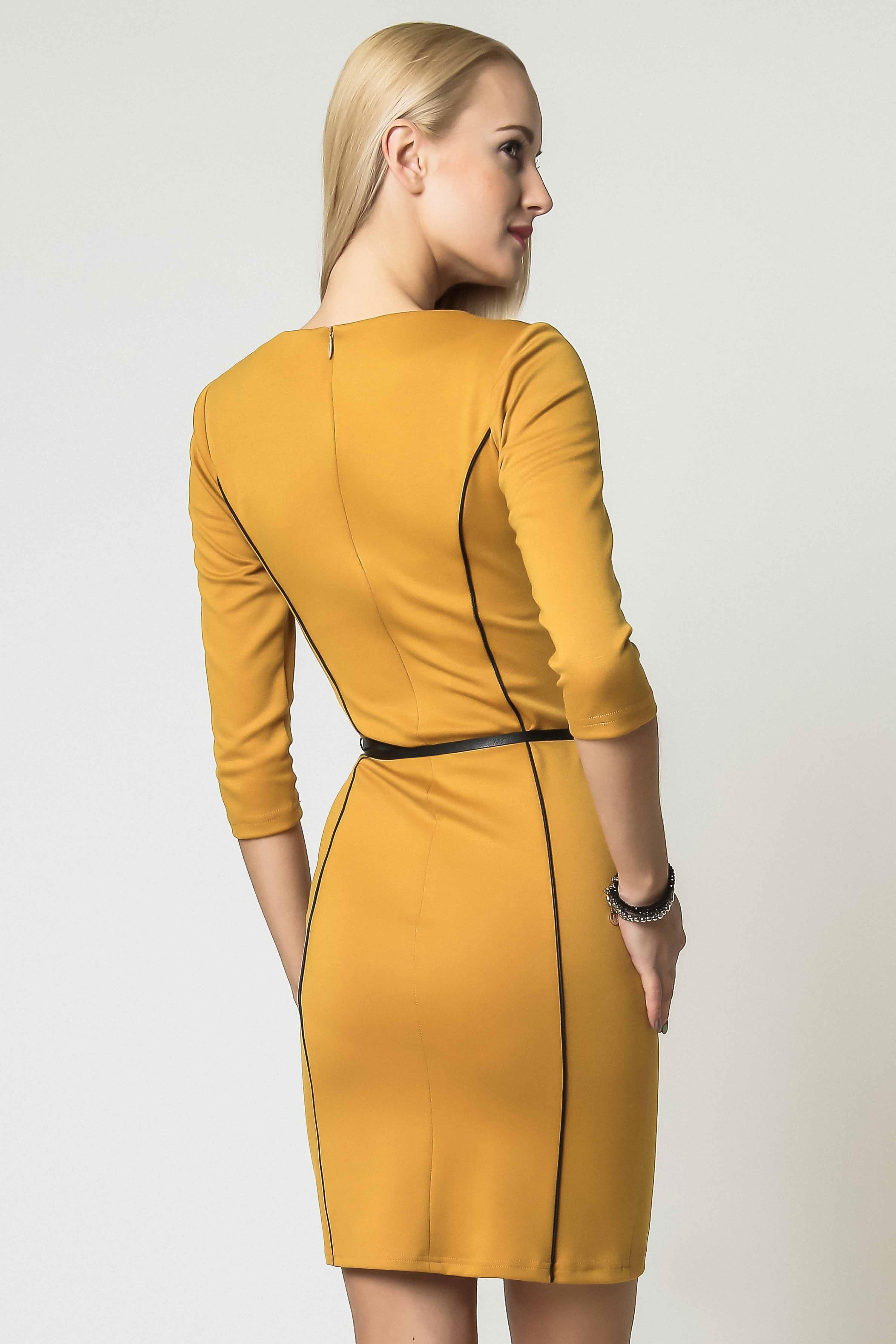 Sukienka Pola w kolorze miodowym