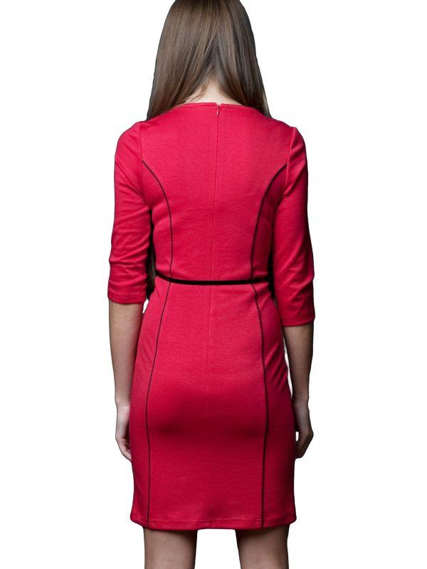 Sukienka Pola w kolorze czerwonym