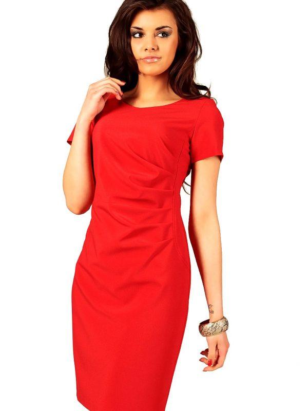Sukienka Rachela w kolorze czerwonym