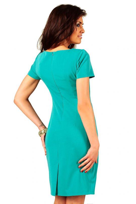 Sukienka Rachela w kolorze turkusowym