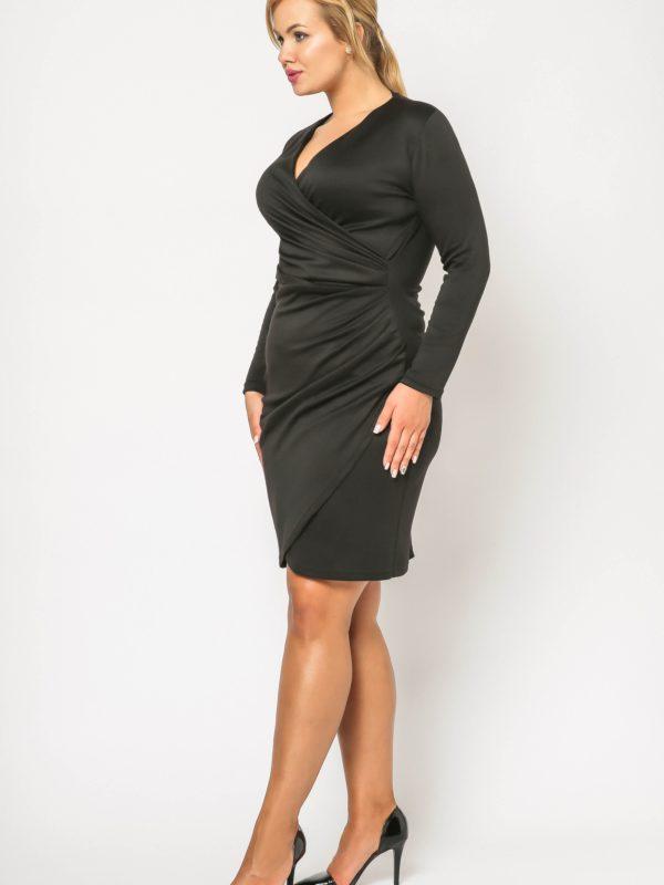Sukienka Rebeka w kolorze czarnym