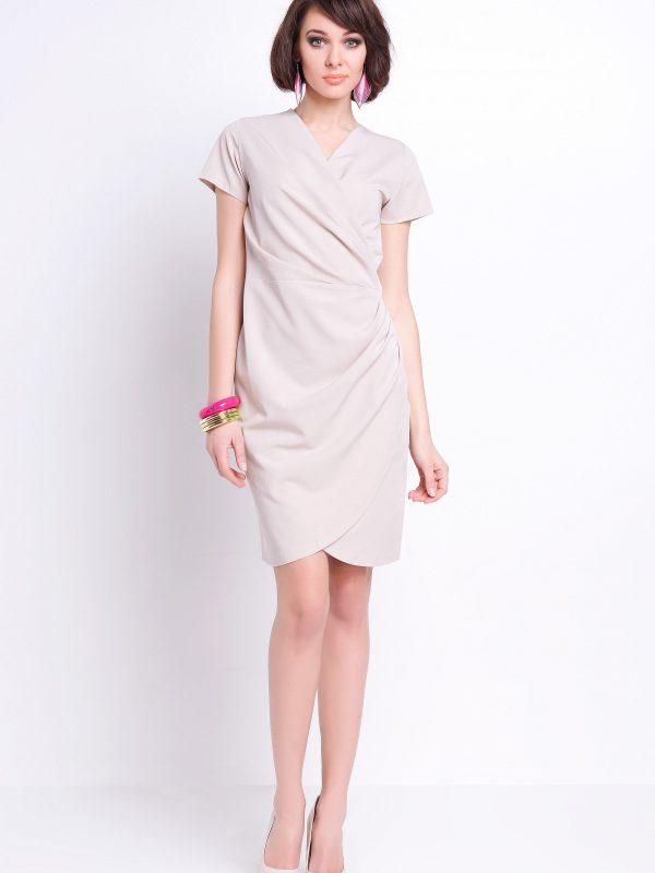 Sukienka Rita w kolorze beżowym
