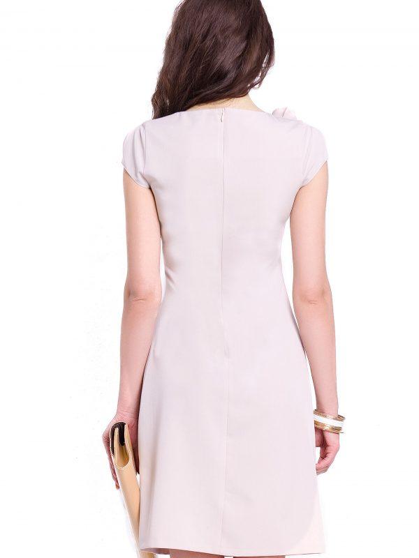 Sukienka Salome w kolorze beżowym