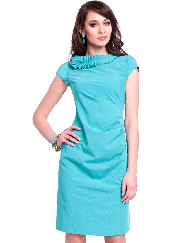 Minzfarbenes Salome-Kleid