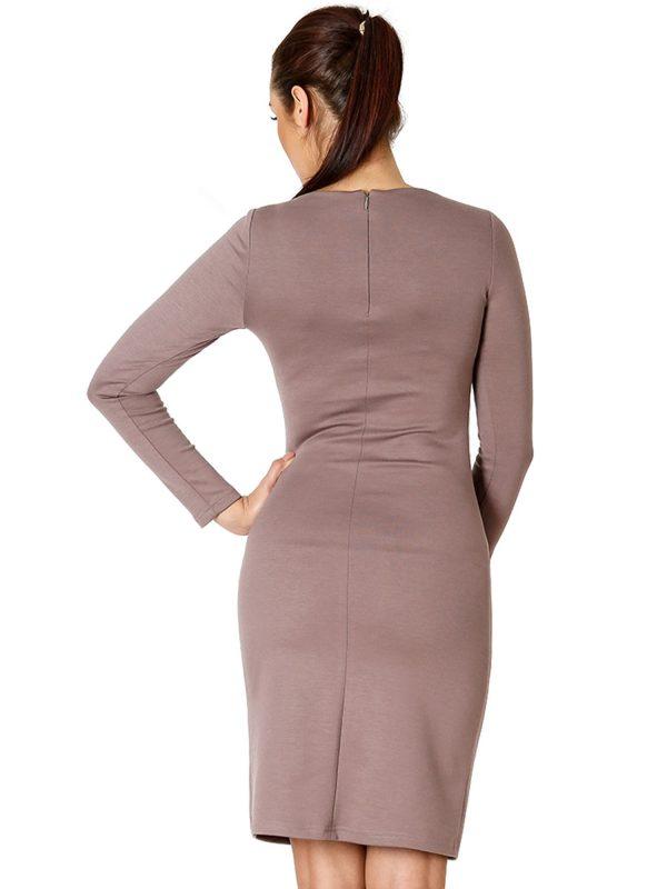 Sukienka Sara w kolorze beżowym