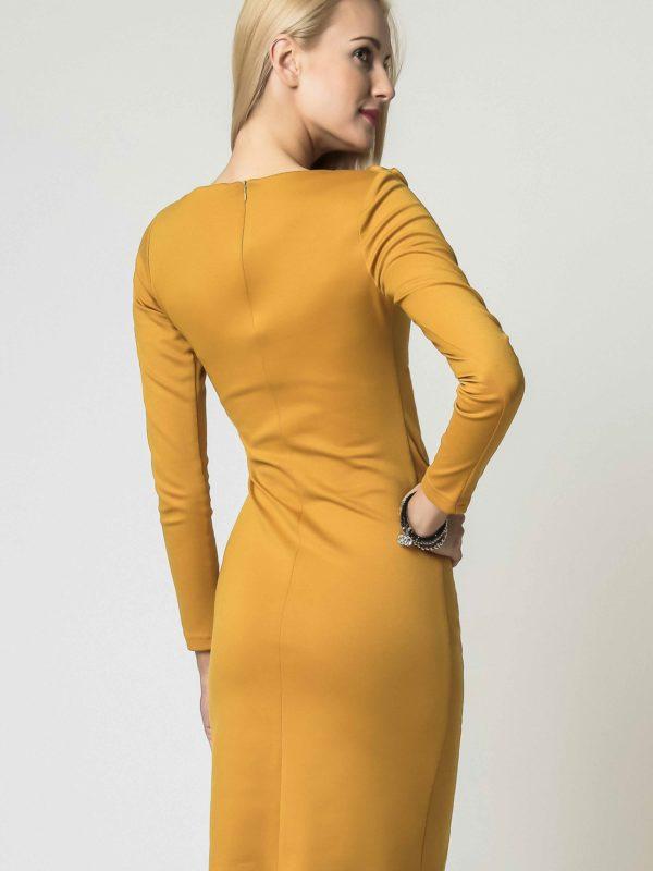 Sukienka Sara w kolorze miodowym