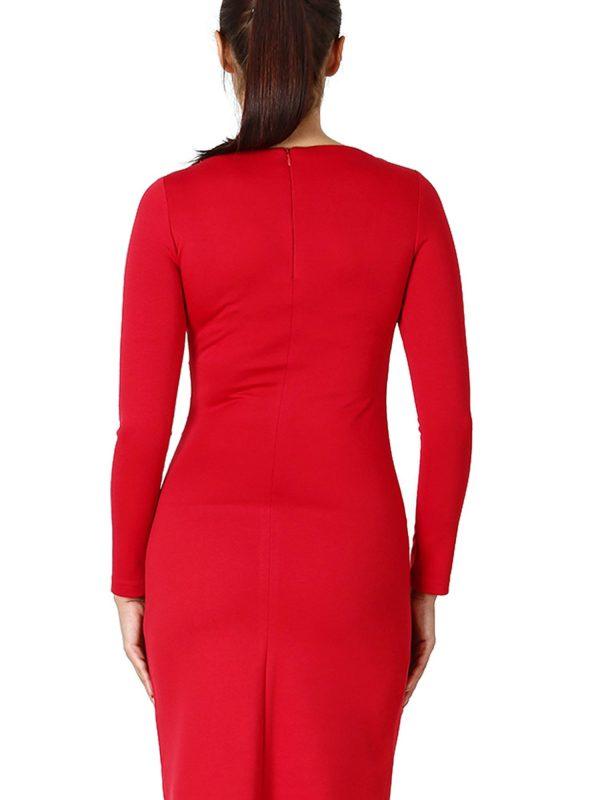 Sukienka Sara w kolorze czerwonym
