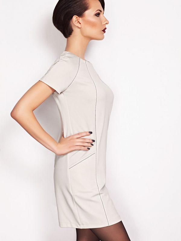 Sukienka Sendy w kolorze beżowym