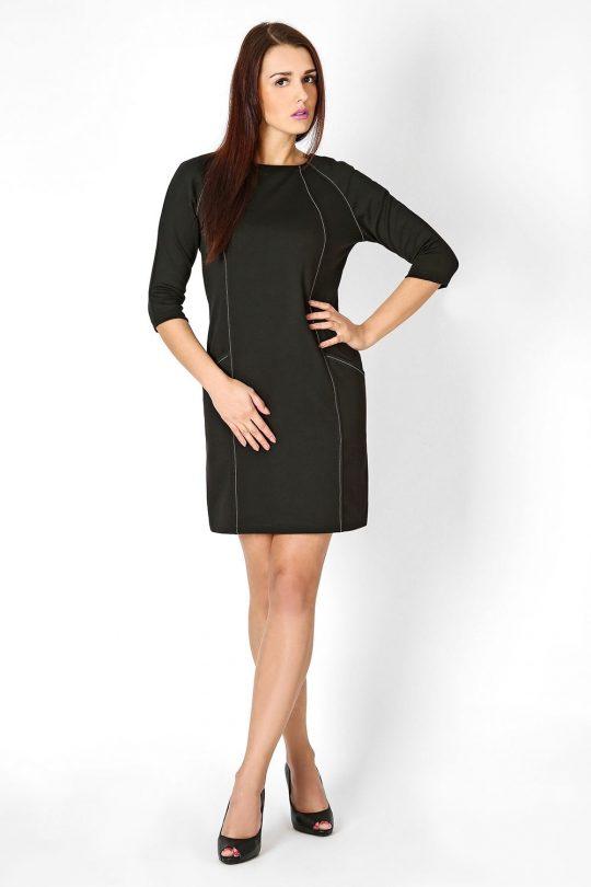 Sukienka Sendy w kolorze czarnym