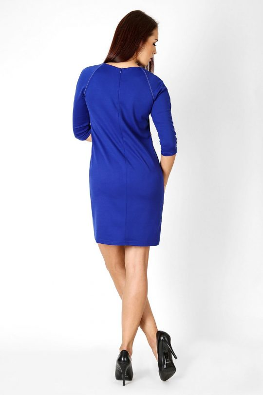 Sukienka Sendy w kolorze błękitnym