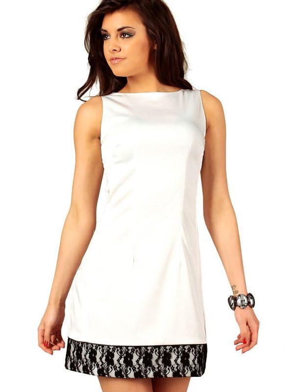 Sukienka Simone w kolorze ecru