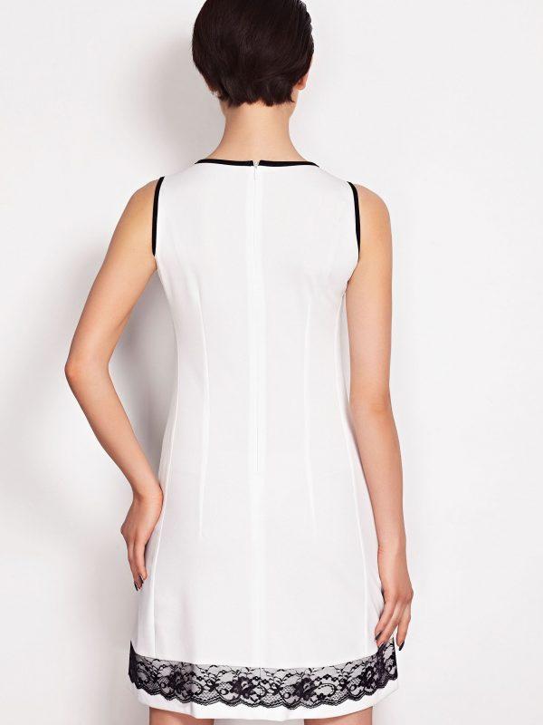 Sukienka SIMONE SOMMER w kolorze beżowym