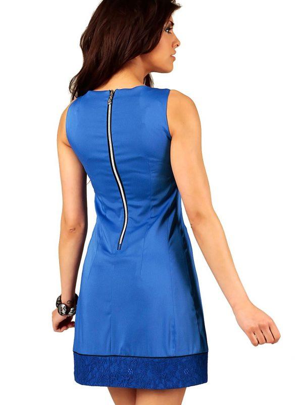 Sukienka SIMONE SOMMER w kolorze niebieskim