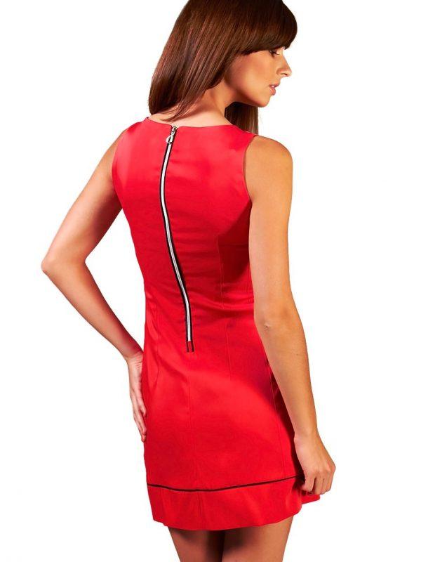 Sukienka Simone w kolorze czerwonym