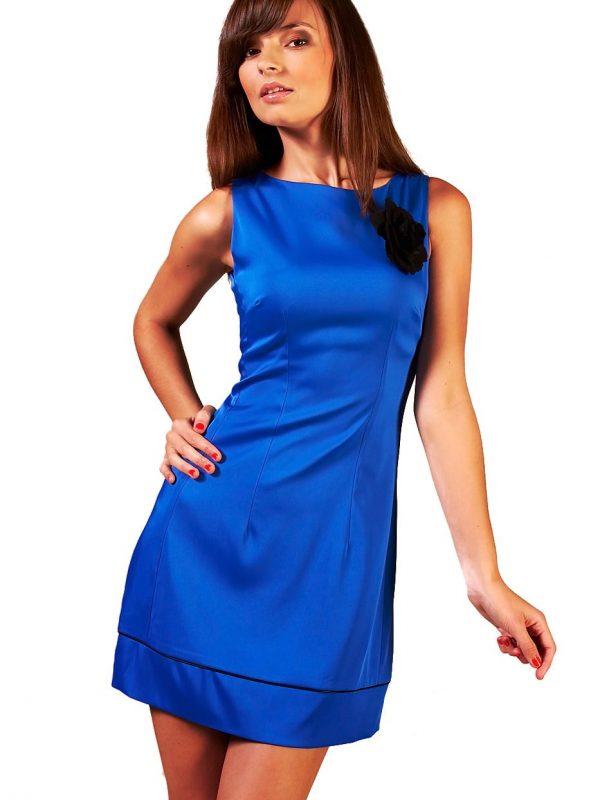 Sukienka Simone w kolorze chabrowym