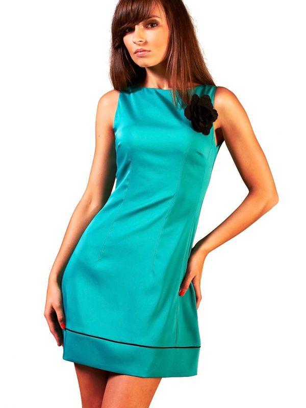 Sukienka Simone w kolorze turkusowym
