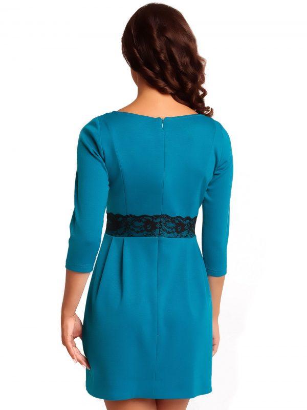 Sukienka SOLANGE KNITWEAR w kolorze błękitnym