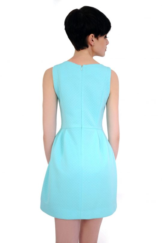 Sukienka Solange w kolorze turkusowym