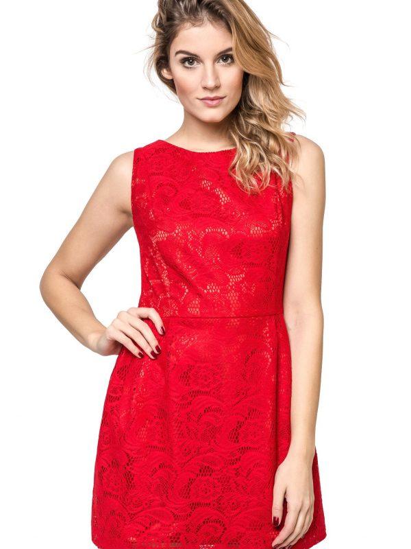 Sukienka Sonia w kolorze czerwonym