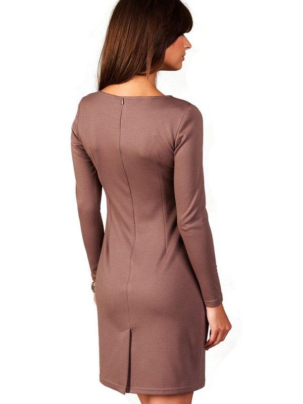 Sukienka Sophie w kolorze beżowym