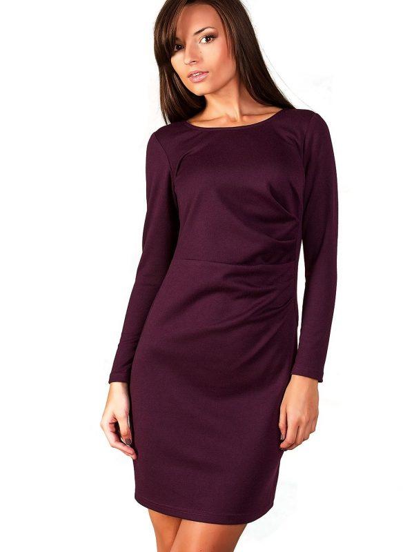 Sukienka Sophie w kolorze śliwki