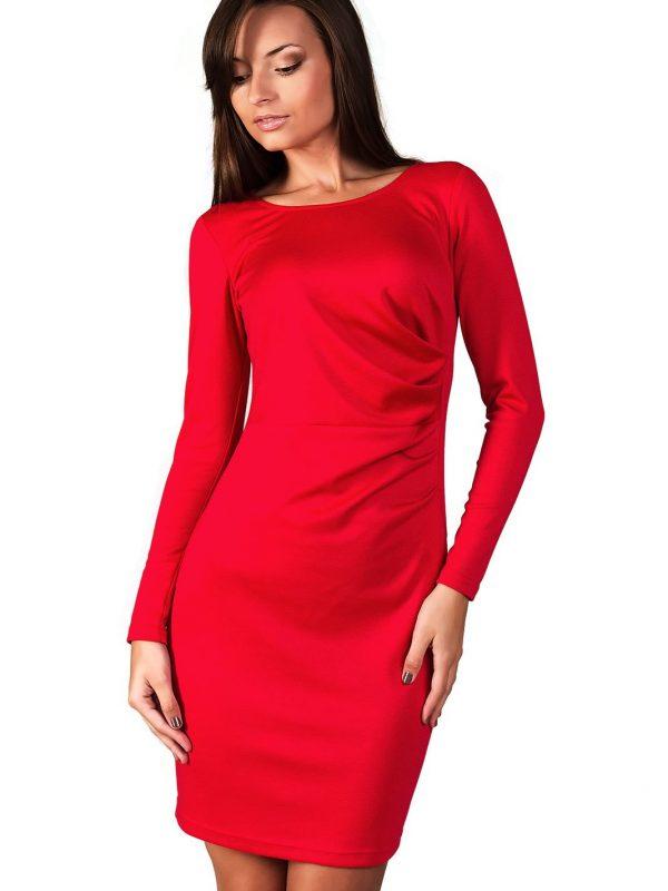 Sukienka Sophie w kolorze czerwonym
