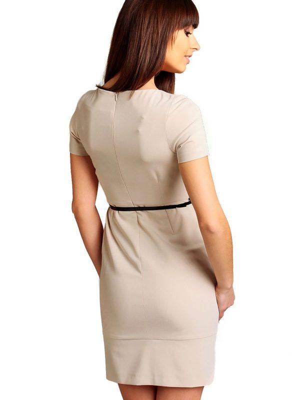Sukienka Susanne w kolorze beżowym