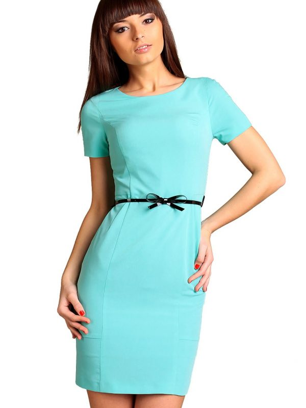 Sukienka Susanne w kolorze miętowym