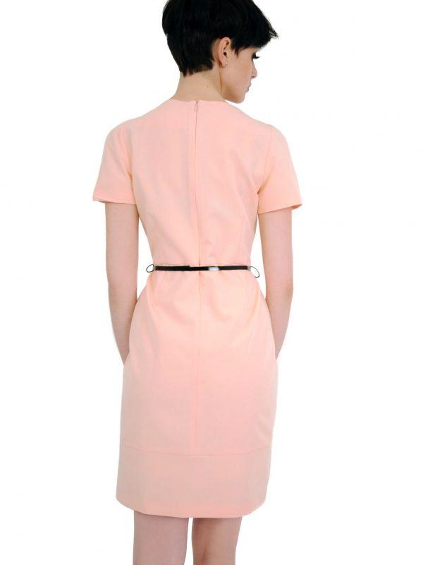 Sukienka Susanne w kolorze pudrowym