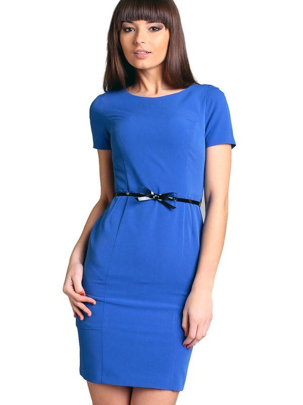 Sukienka Susanne w kolorze chabrowym