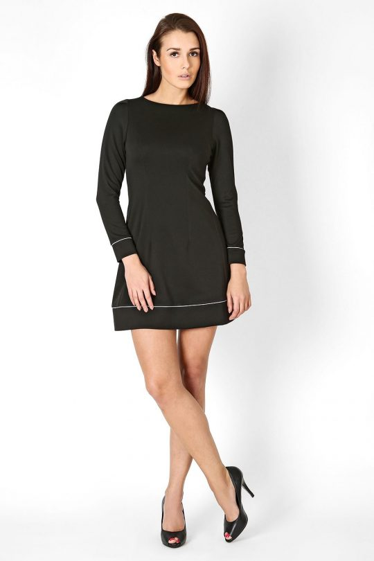 Sukienka Sylwia w kolorze czarnym