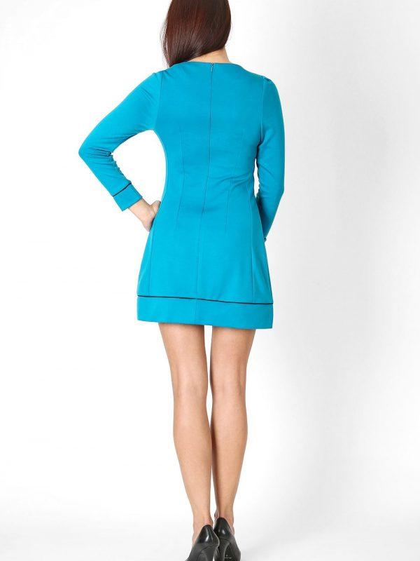 Sukienka Sylwia w kolorze chabrowym