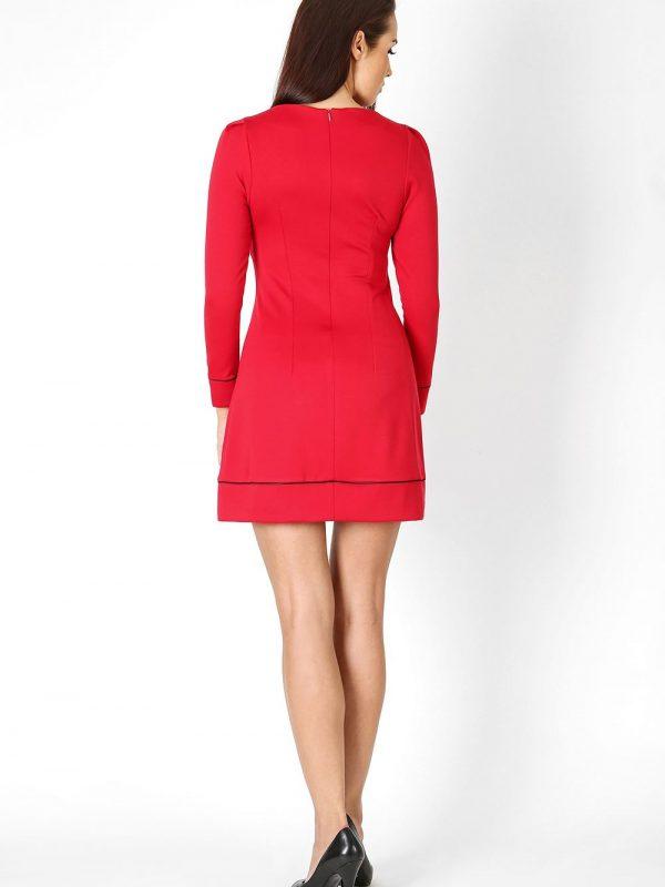 Sukienka Sylwia w kolorze błekitnym