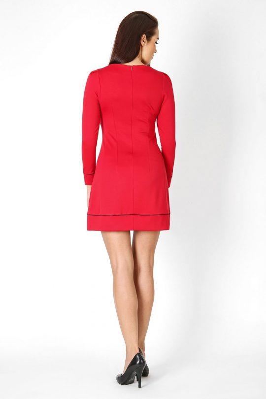 Sukienka Sylwia w kolorze czerwonym