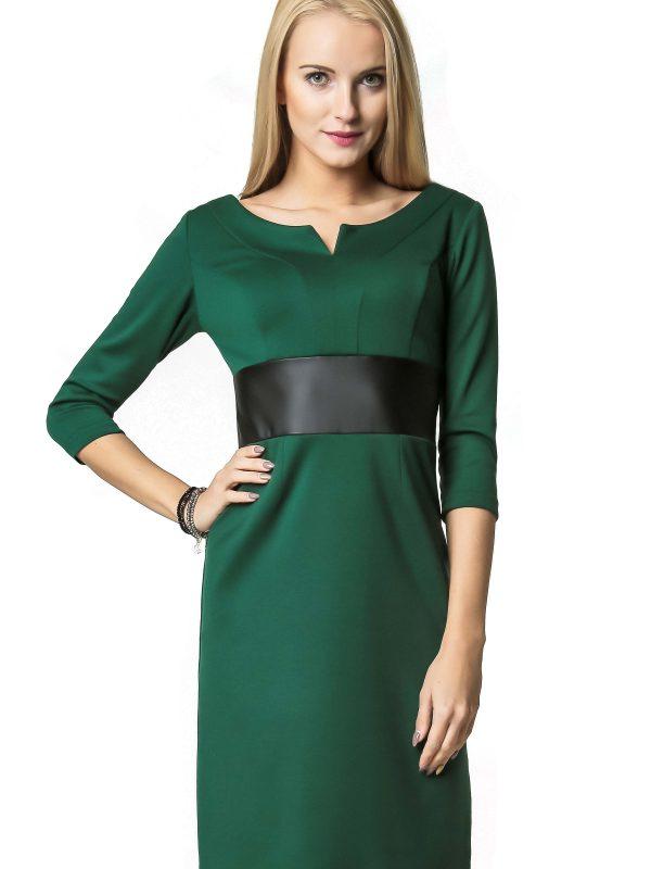 Sukienka Tanya w kolorze zielonym