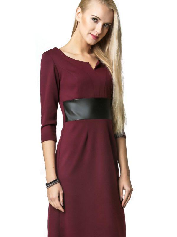 Sukienka Tanya w kolorze bordowym