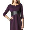 Sukienka Tanya w kolorze śliwkowym