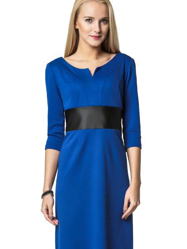 Sukienka Tanya w kolorze chabrowym