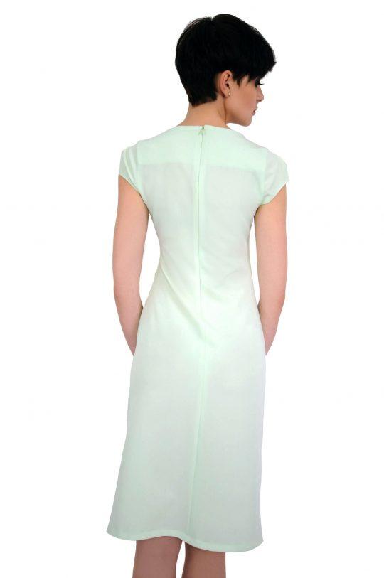 Sukienka Tina w kolorze seledynowym