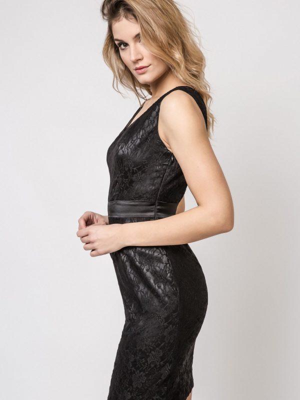 Sukienka Vanda w kolorze czarnym