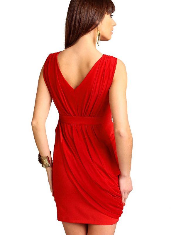 Sukienka Vivienne w kolorze czerwonym