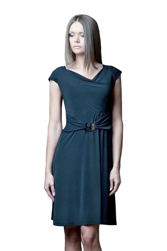 Sukienka Milena w kolorze granatowym
